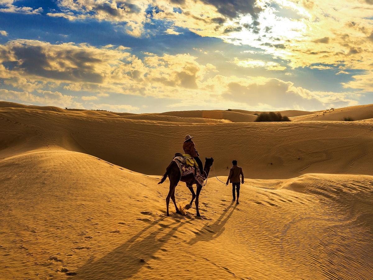 The Thar Desert in India