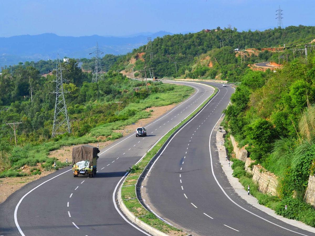 Golden Quadrilateral Highway Network in India