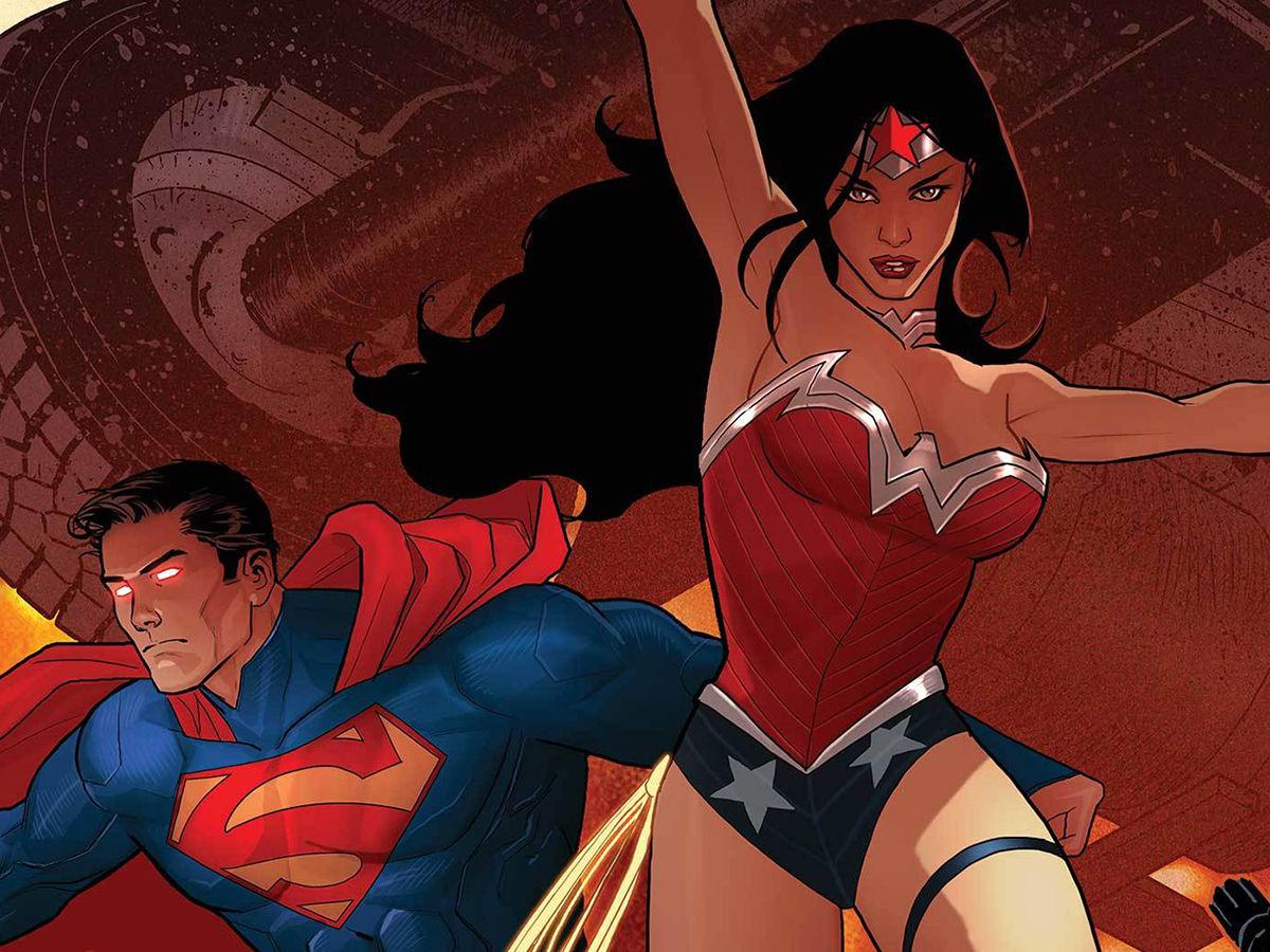 wonder women and superman DCeased