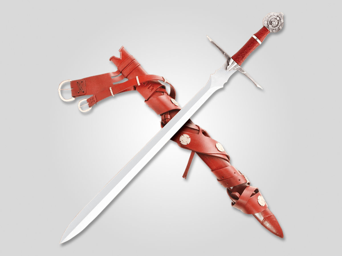 the drundal with red sheath
