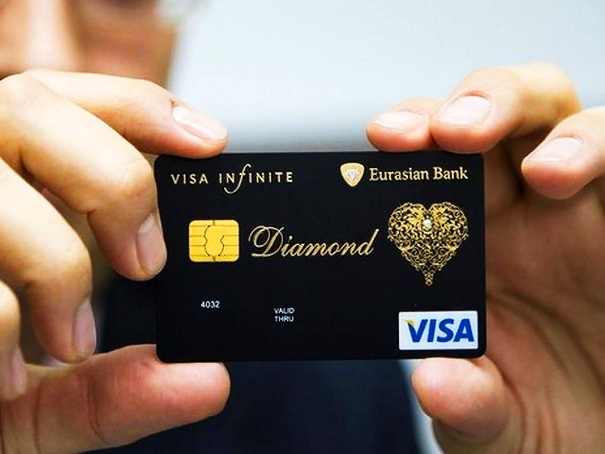 Eurasian Diamond Credit Card Visa Infinite