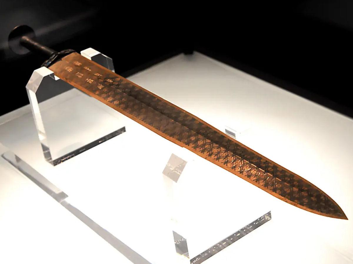 Goujian's Sword in display