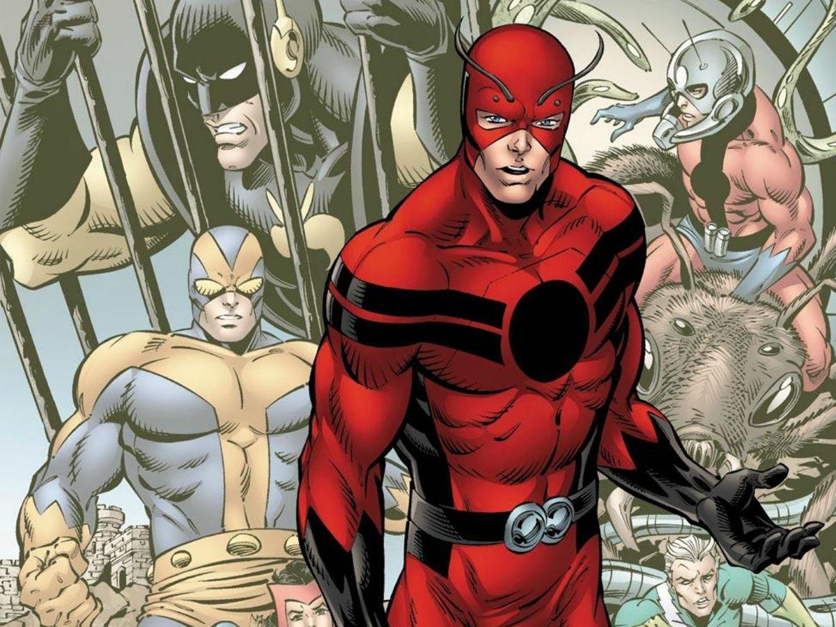 Hank Pym aka the ant man
