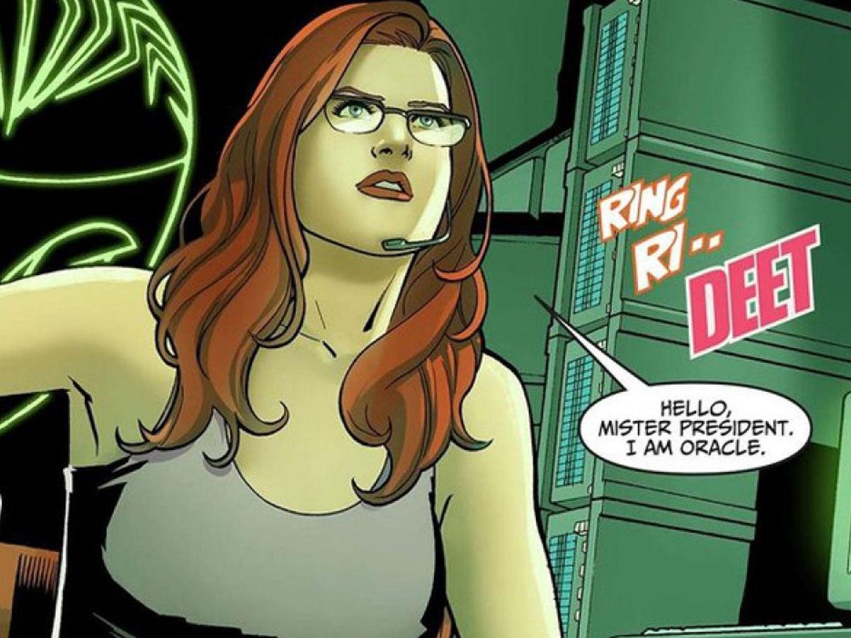 Batgirl aka barbara Gordon aka Oracle