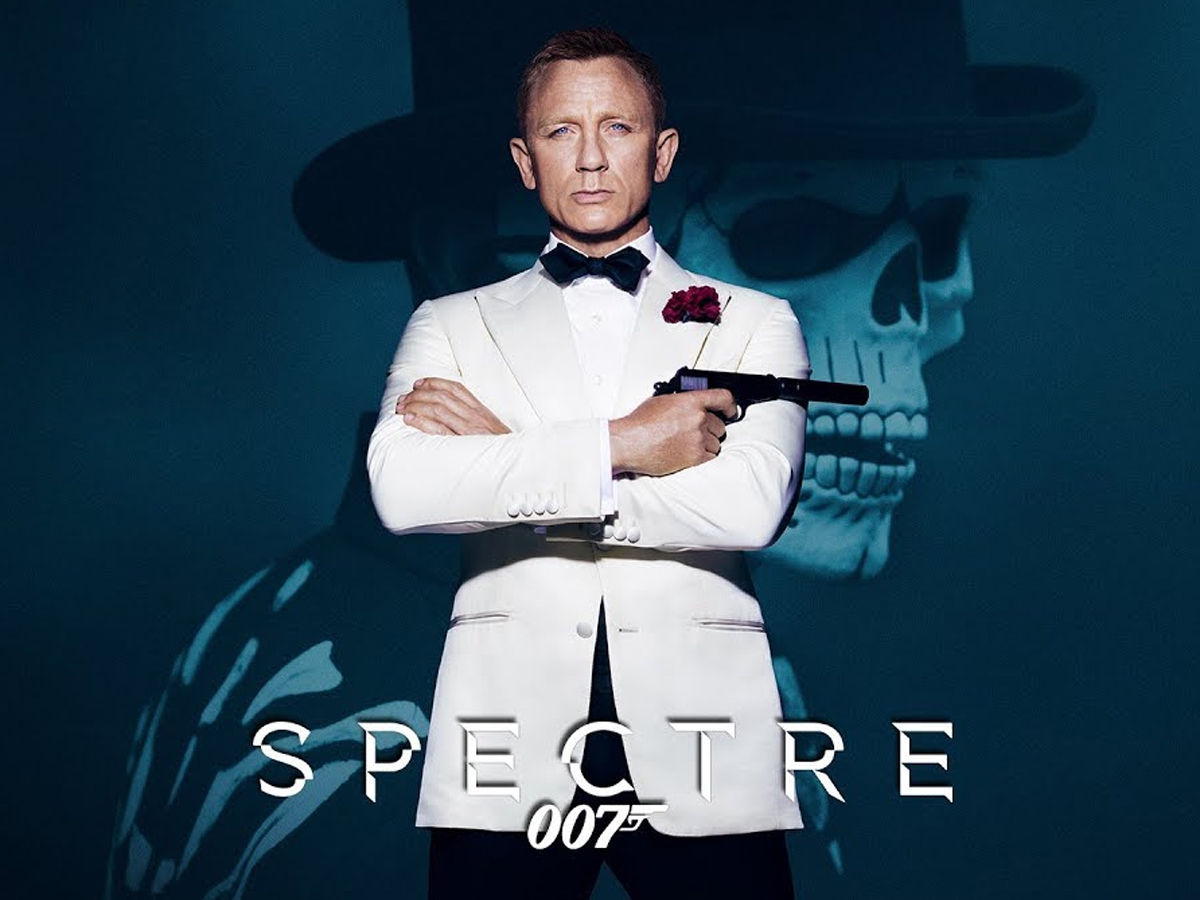 bond movies Spectre by Daniel Craig