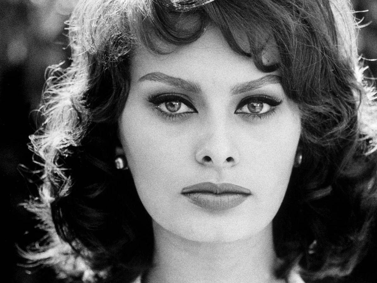 Sophia Loren - Sophia Loren old black and white