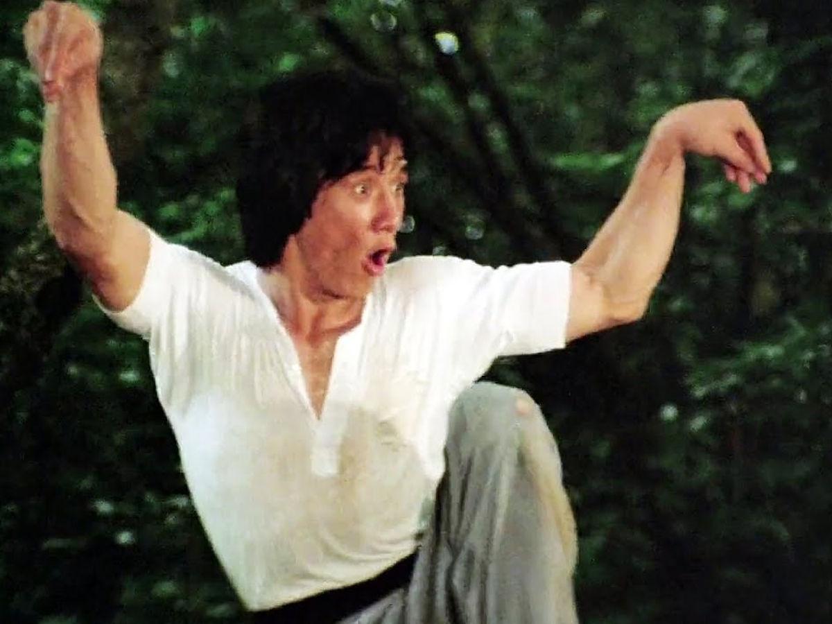 Jackie Chan performing crane style
