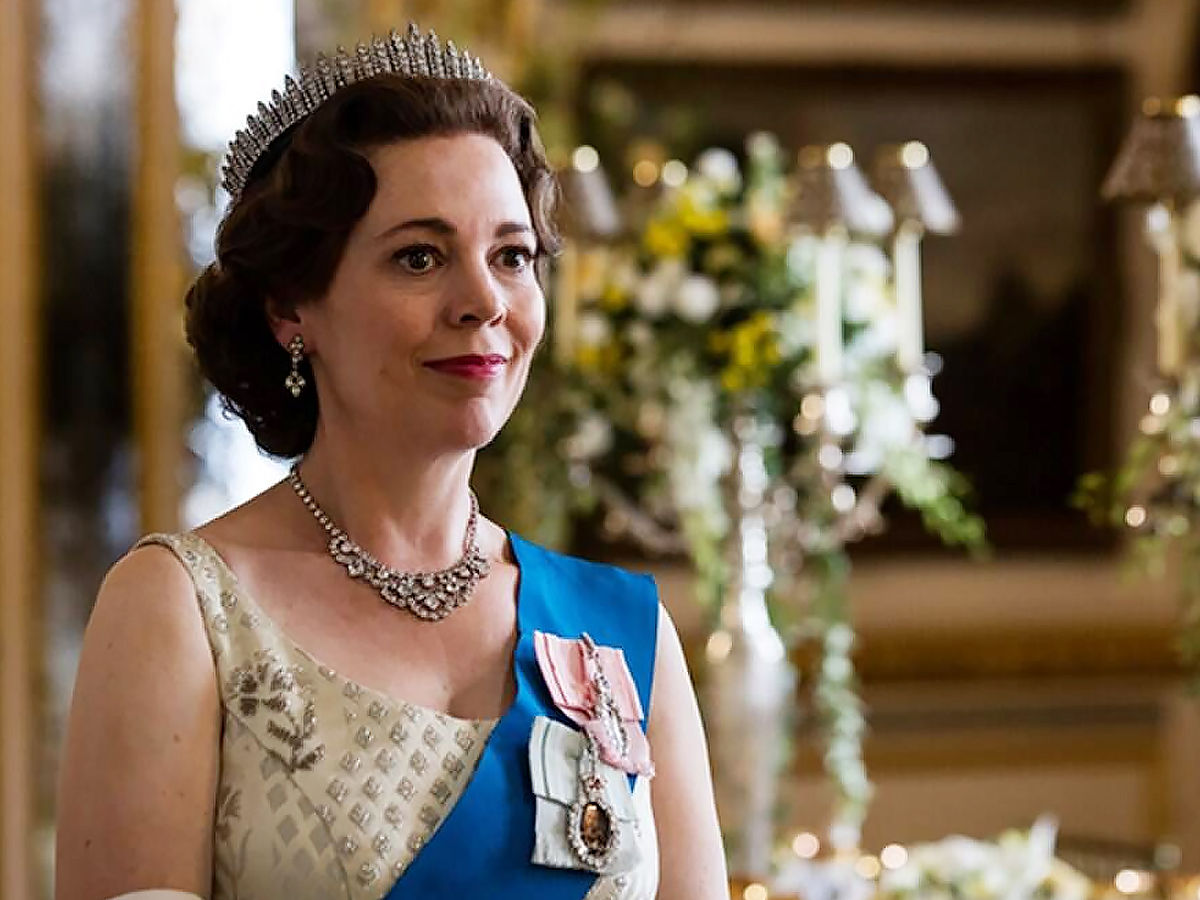 A scene from the crown