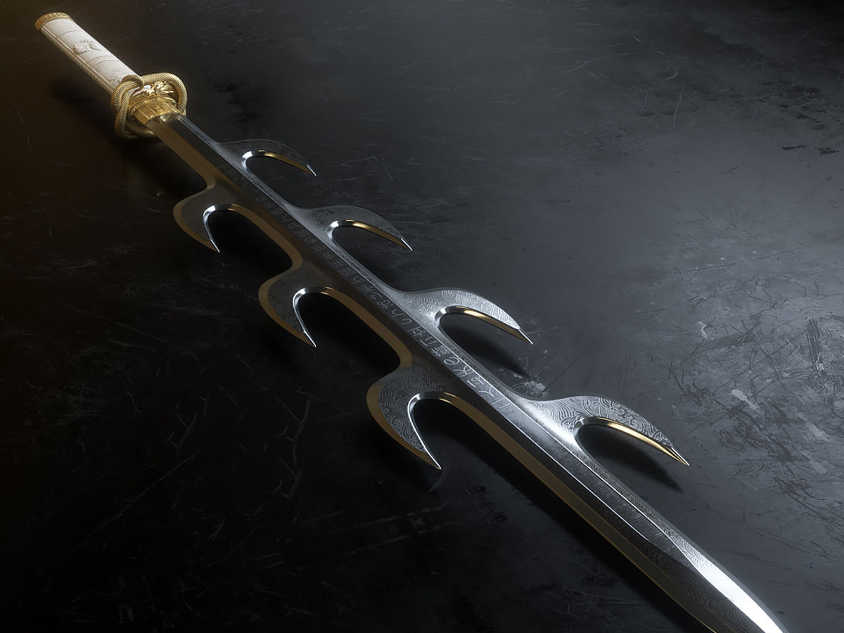 legendary 7 branched sword