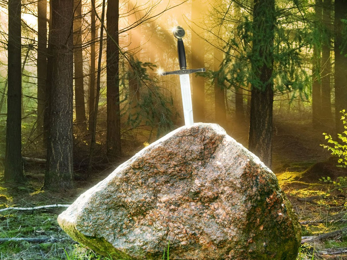 excalibur the sword in the stone