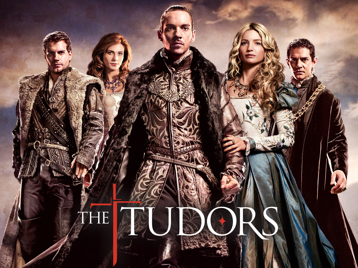 the poster of the Tudors