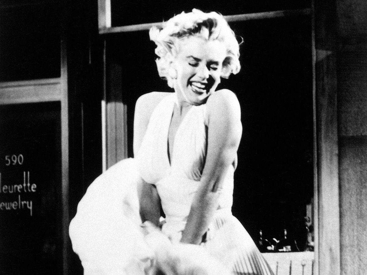 Marilyn Monroe iconic pose