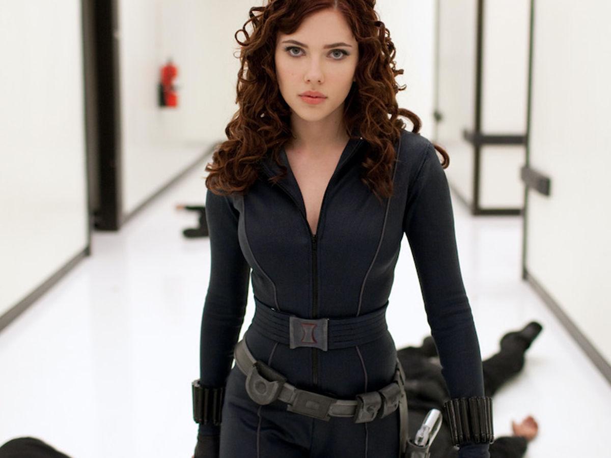 Scarlet Johnson in iron man 2