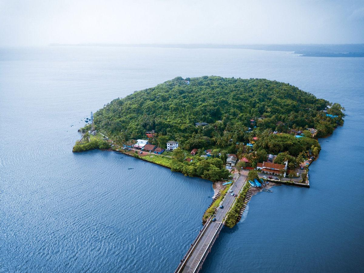Aerial View of Divar Island