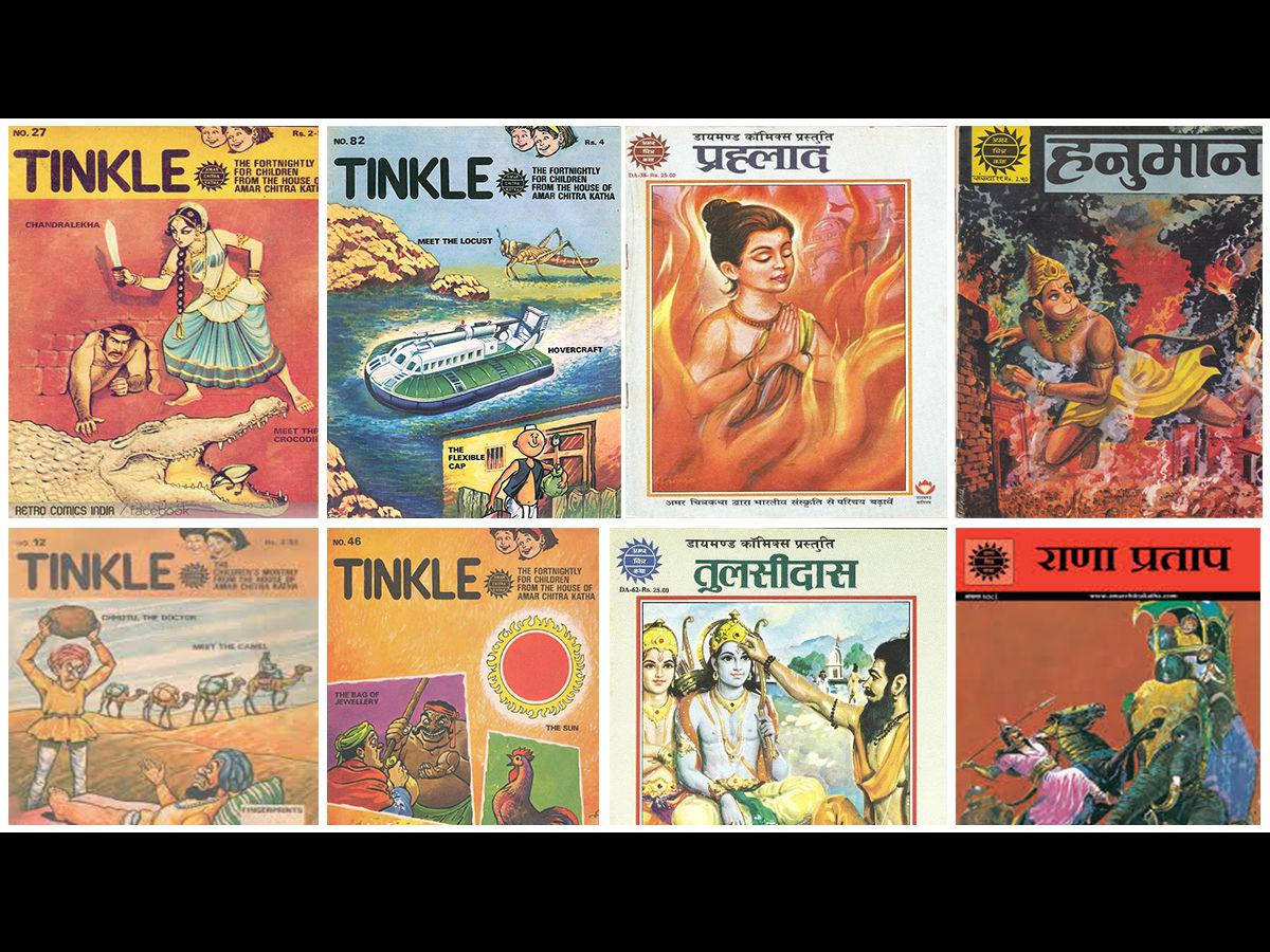 The culture of India through comics