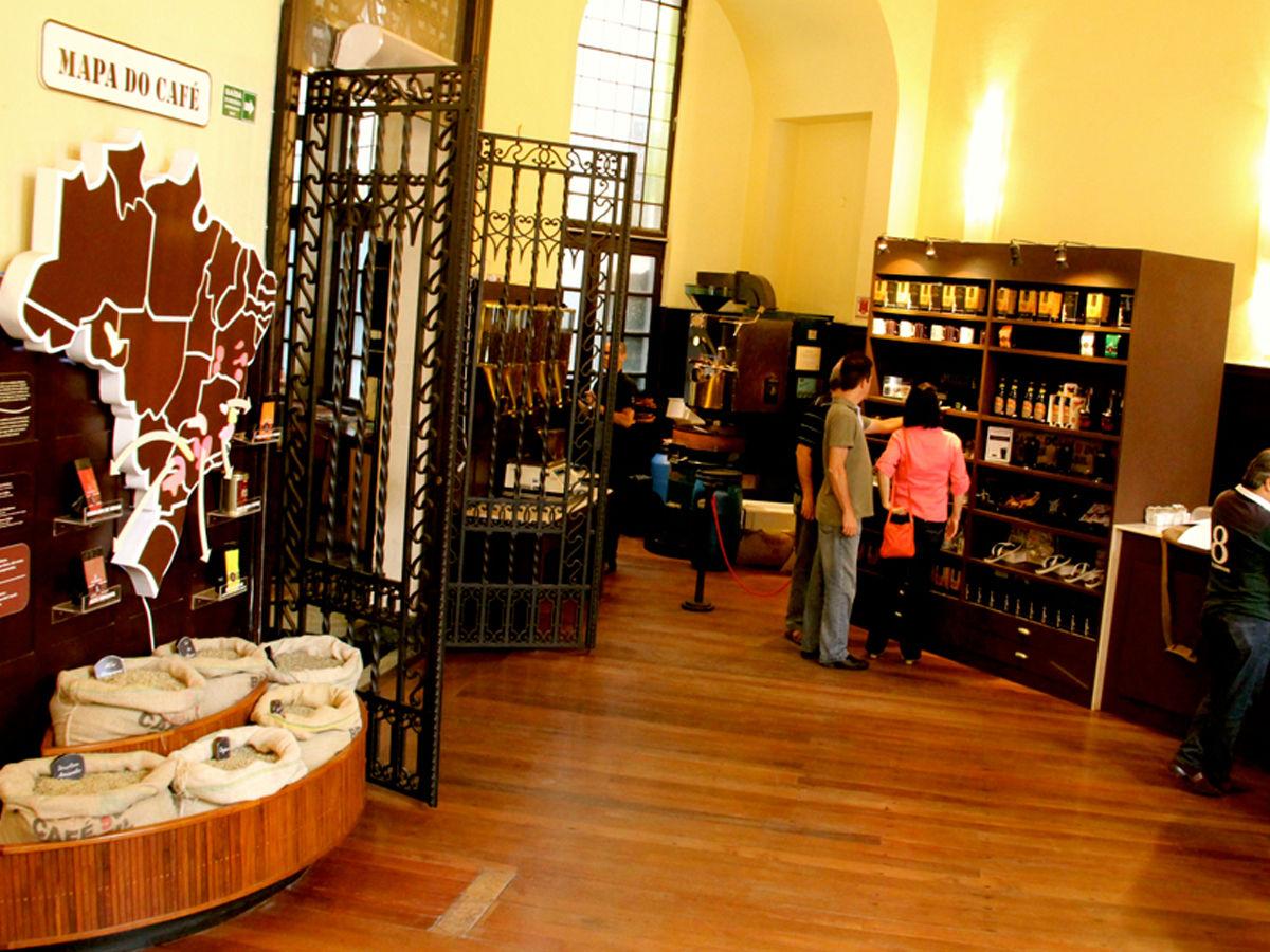 Coffee Museum, Santos, Brazil