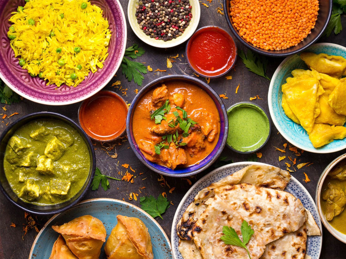 try more than 50 types of food around India