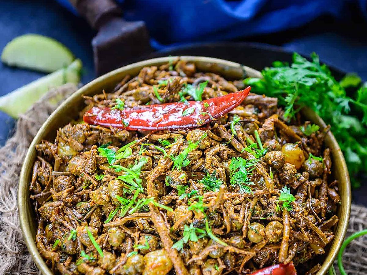 Ker Sangri traditional rajasthani dish