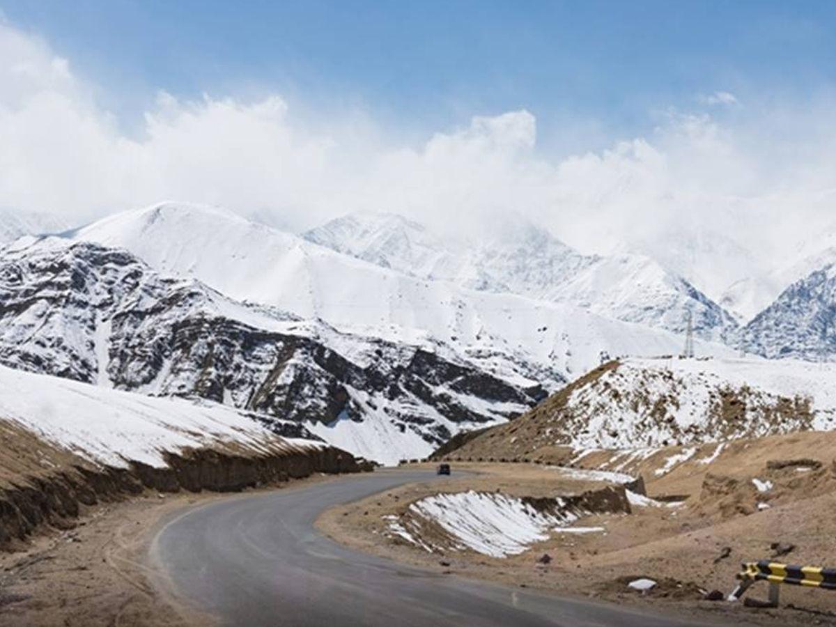 The highest motorway in Ladakh
