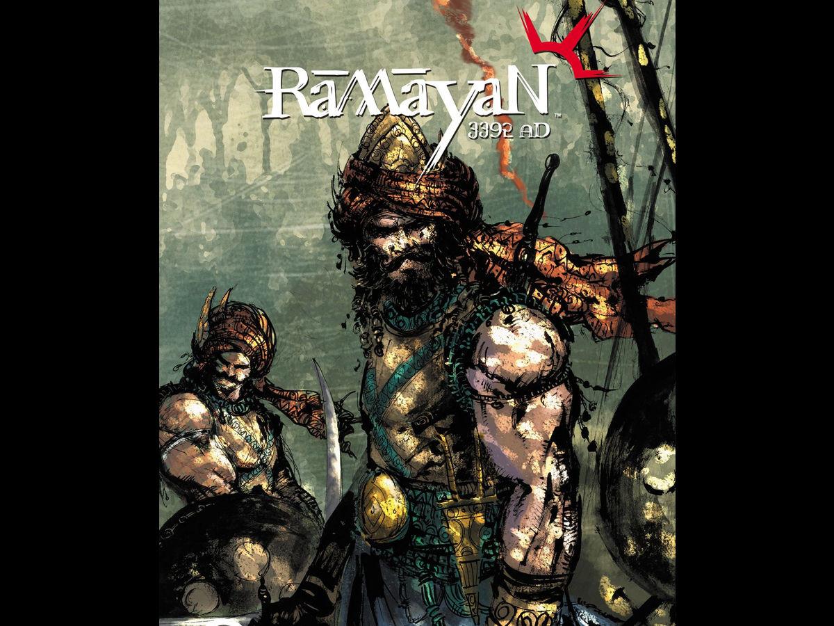 The ramayan in the comics