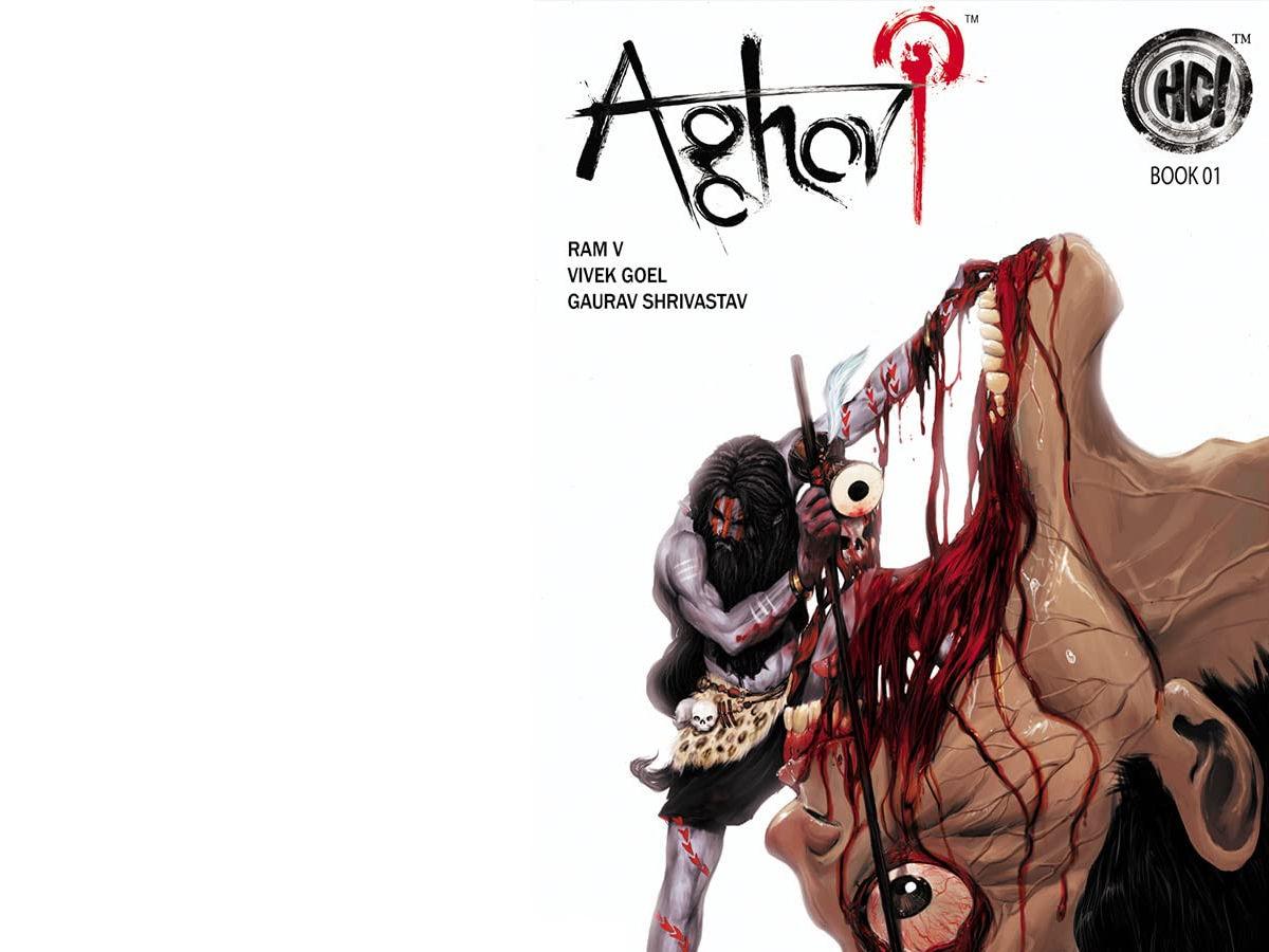 the dark indian comic aghori