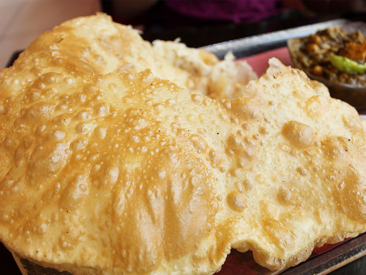 Chhole-Bhature the famous street food