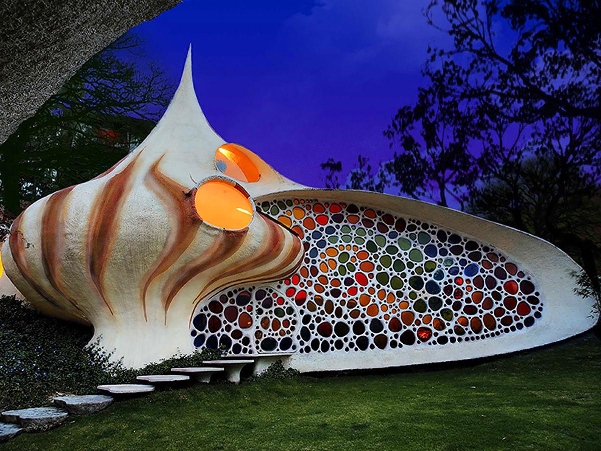 Giant Seashell House, Mexico