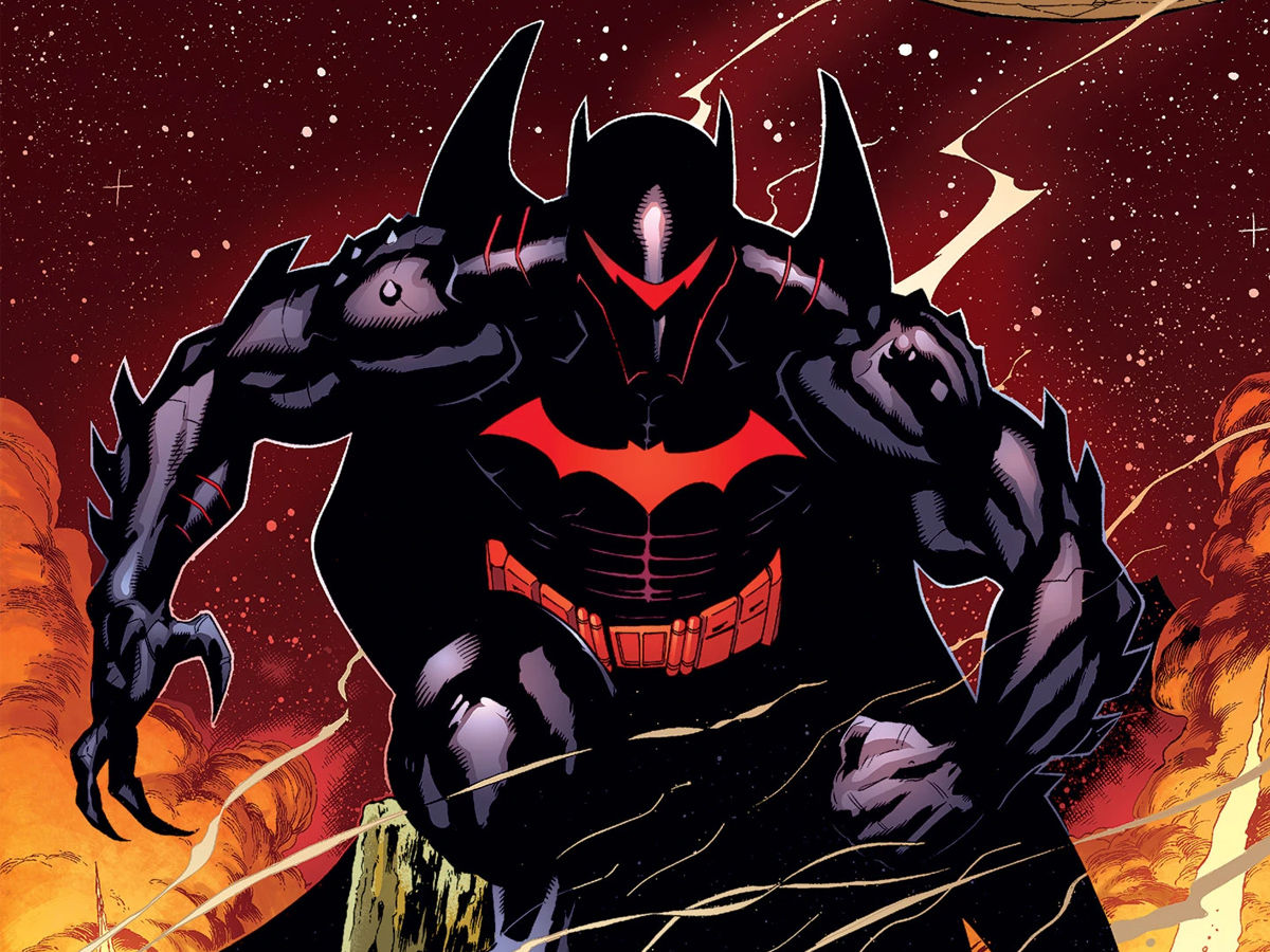 Hellbat Armor Beware Darkseid
