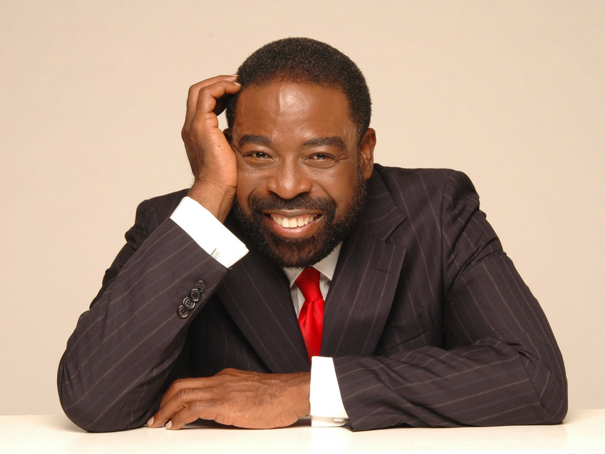the Les Brown ain't that brown