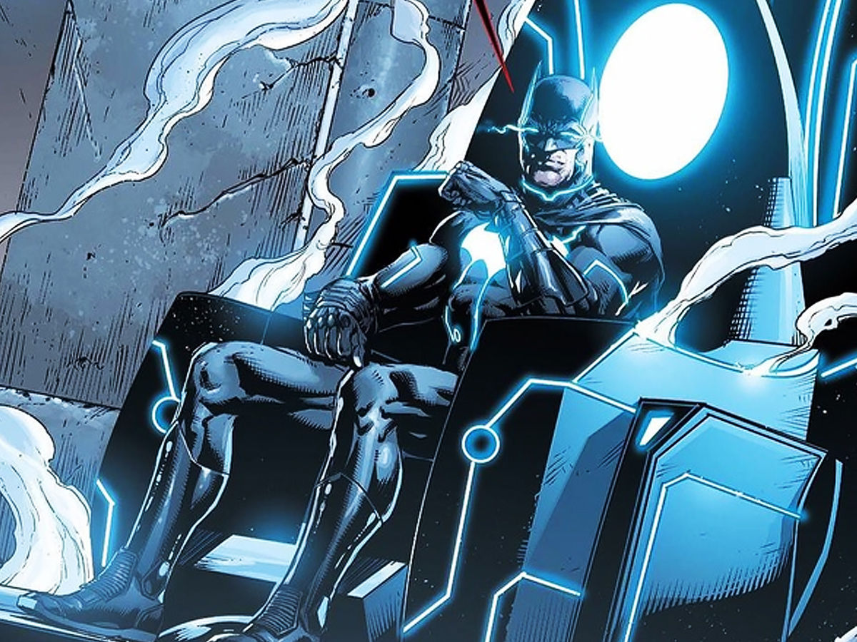 Mobius chair God Batman