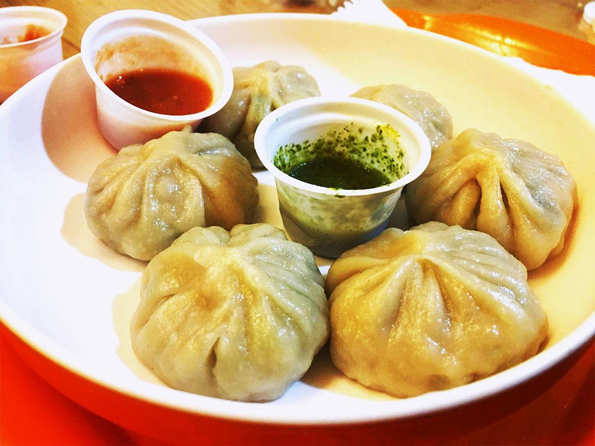 Momos tibetan food loved by delhites