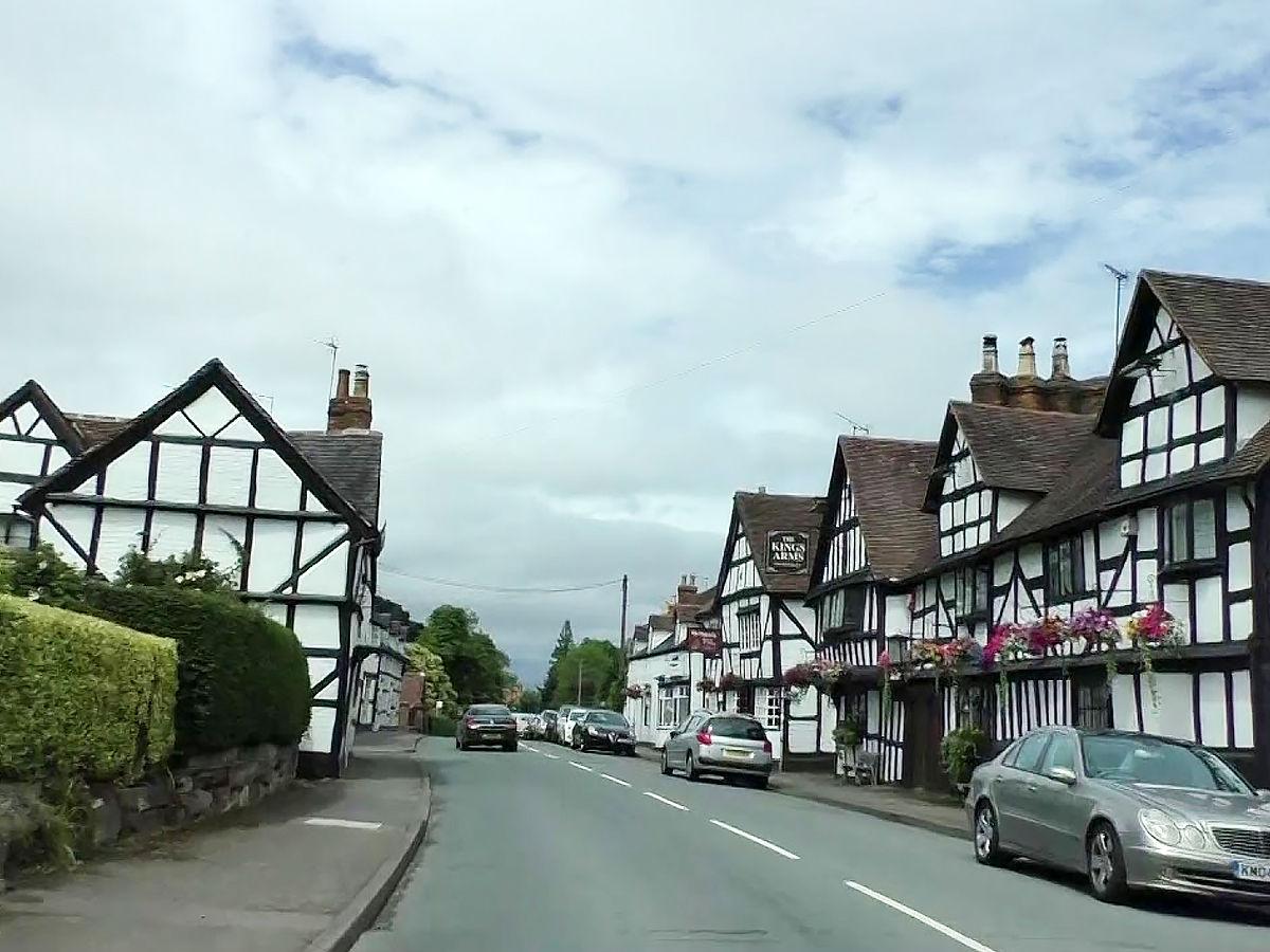 Ombersley, Worcestershire united kingdom