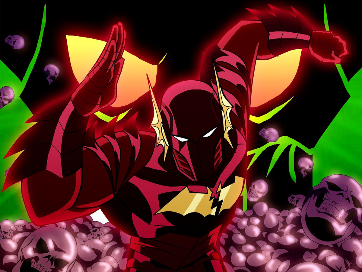 Red Death Flash x Batman