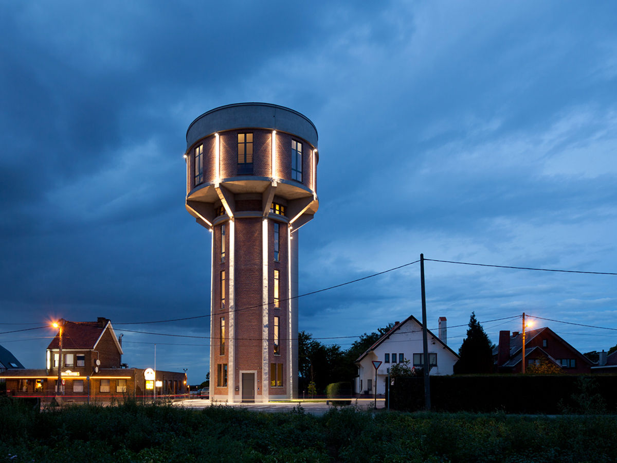 The old water tower, Belgium