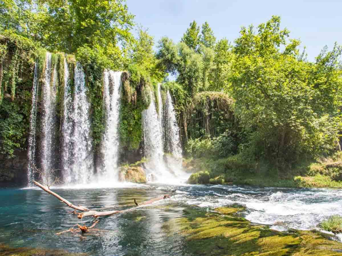 Duden Waterfalls, Waterfall