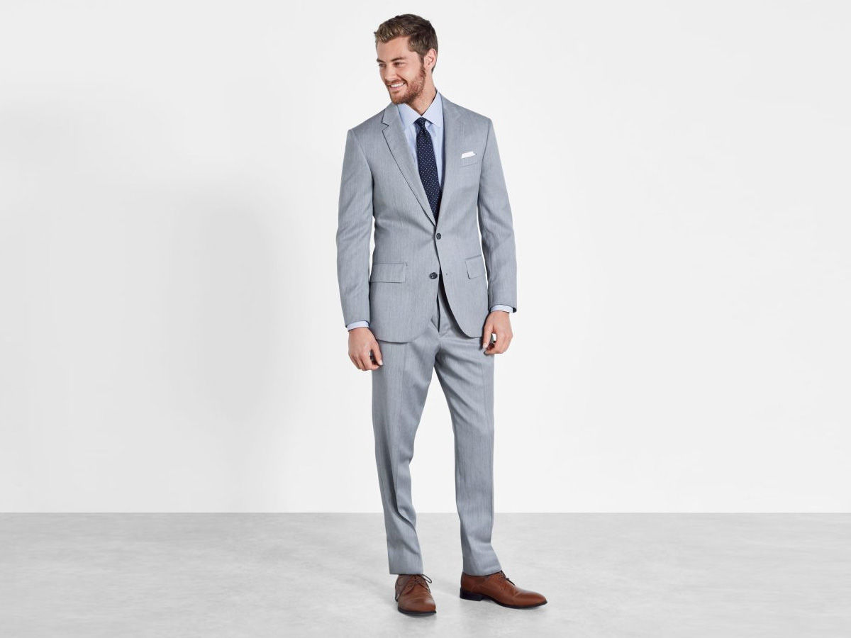 The right semi formal, bespoke suit