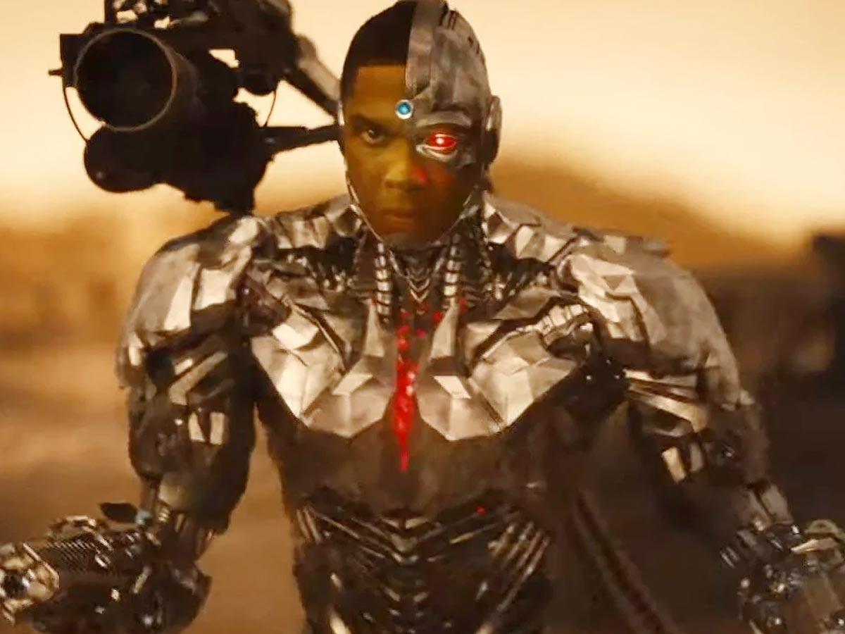 Cyborg in snyder cut