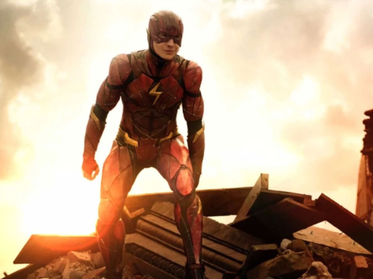 Erza Miller as flash