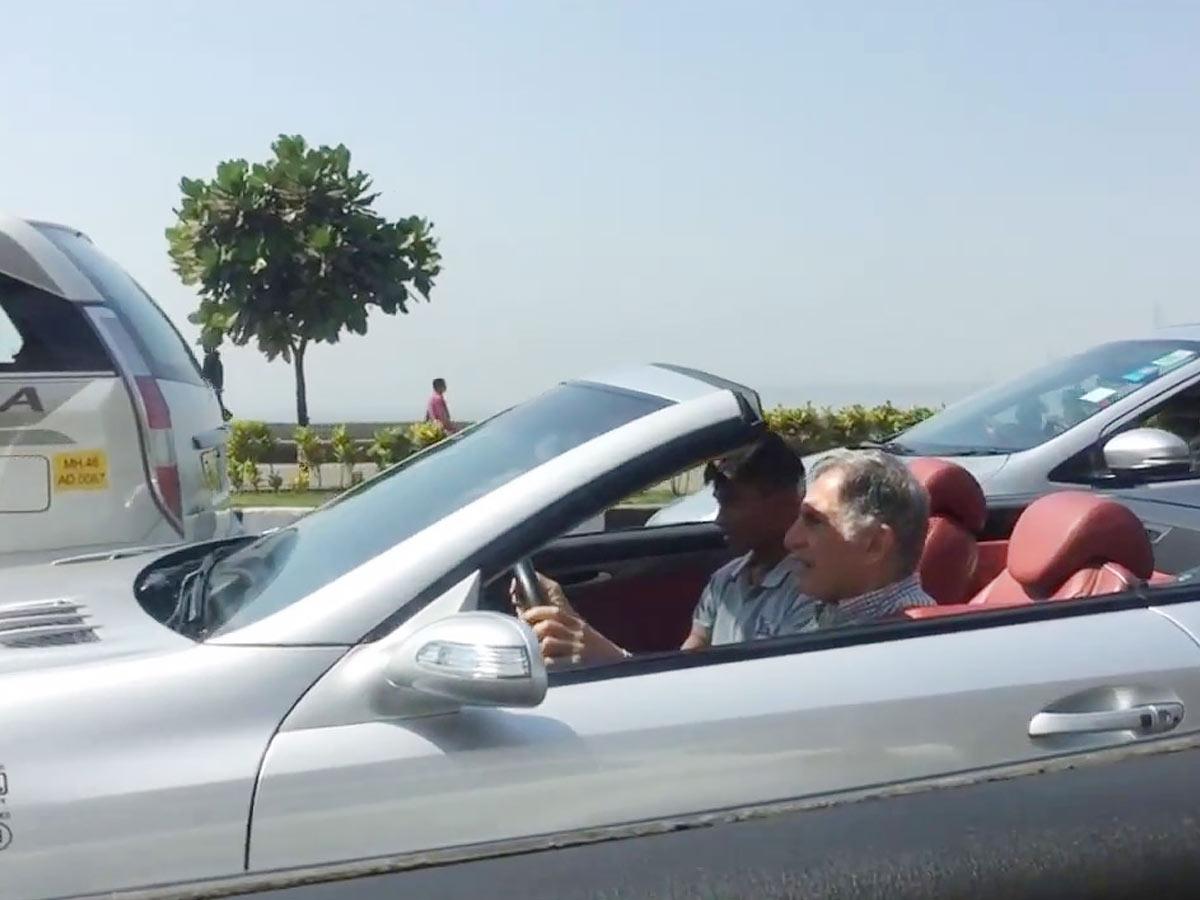 Ratan Tata Mercedes, Mercedes SL 500