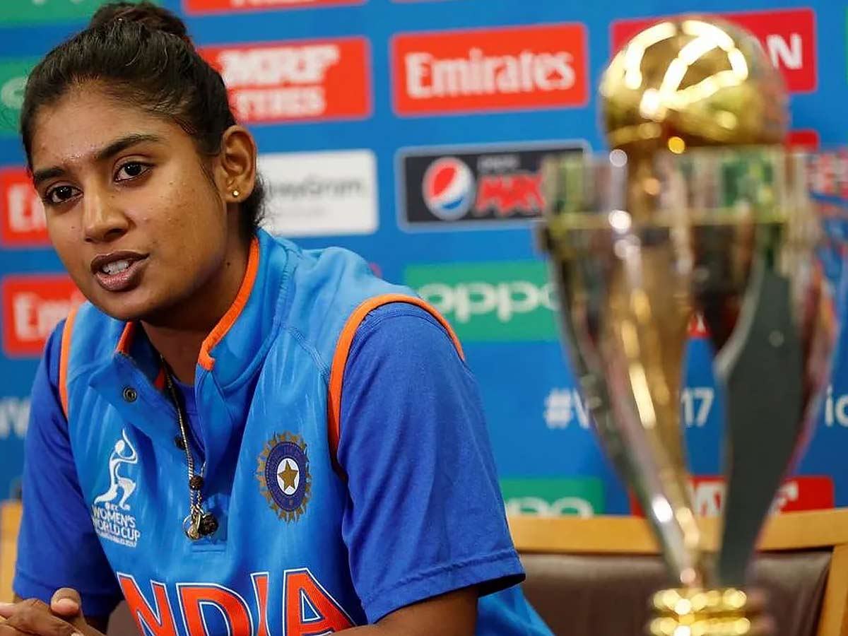 Mithali raj 5 world cups