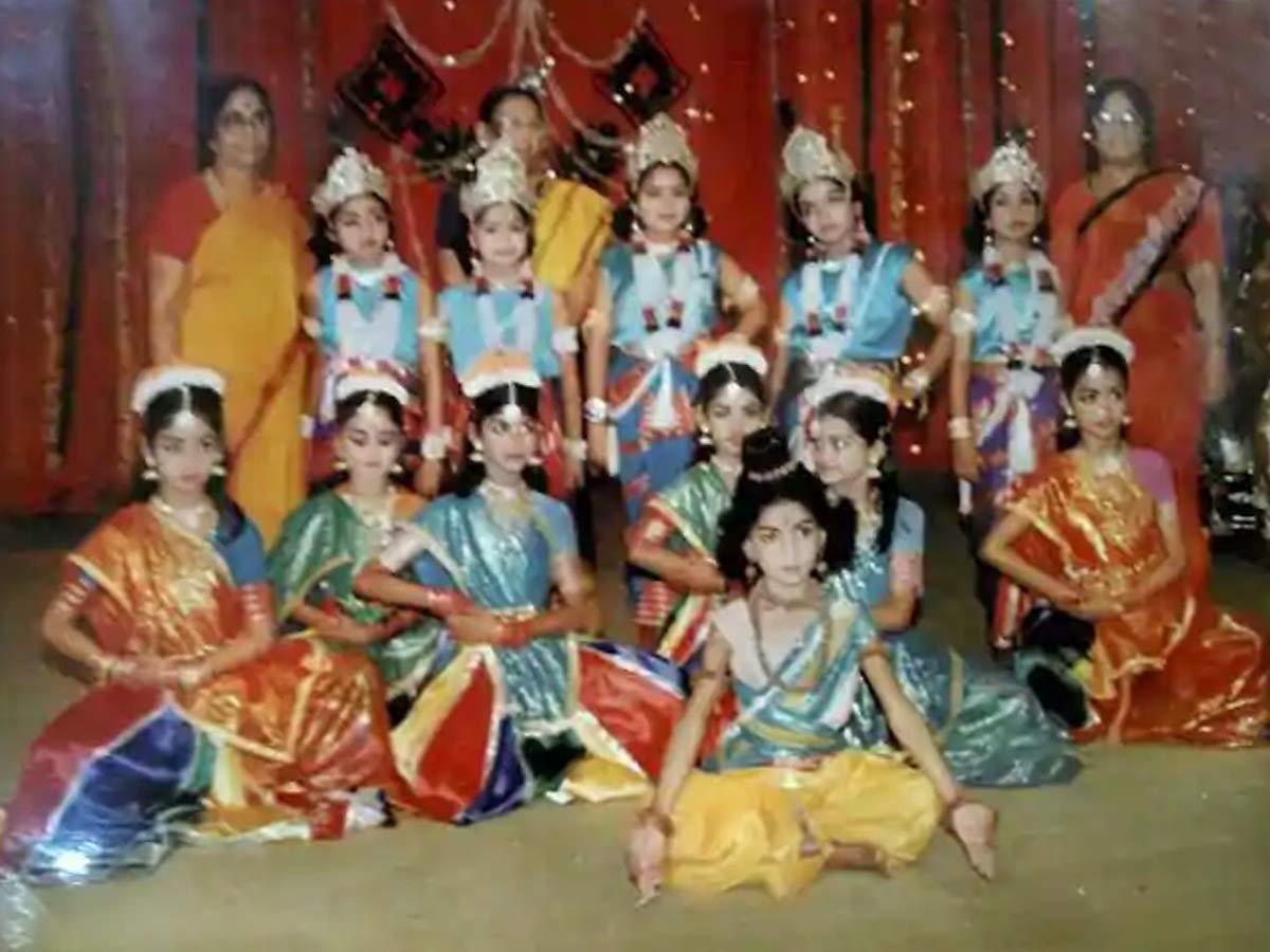 Mithali raj bharanatyam