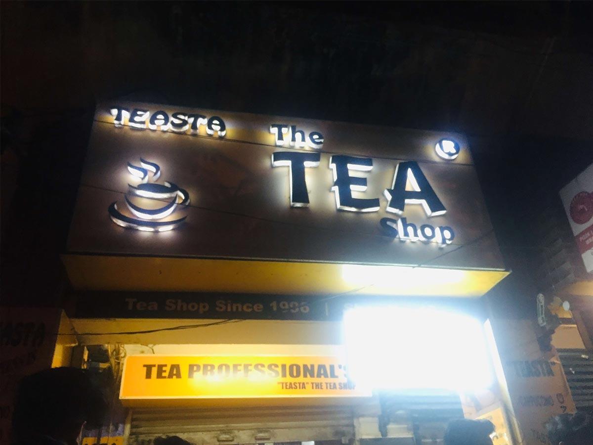 Teasta, Theashop