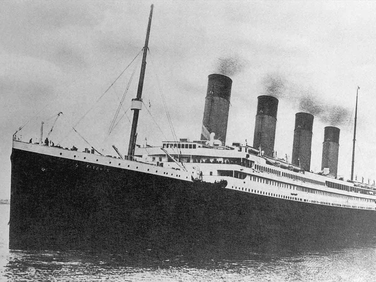 Titanic, unsinkable ship