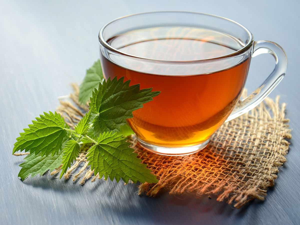 strong green tea