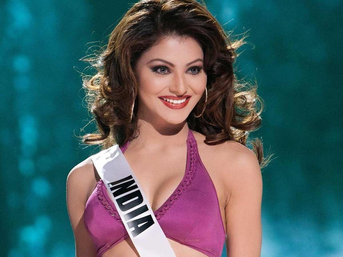 Urvashi Rautela in Miss Universe
