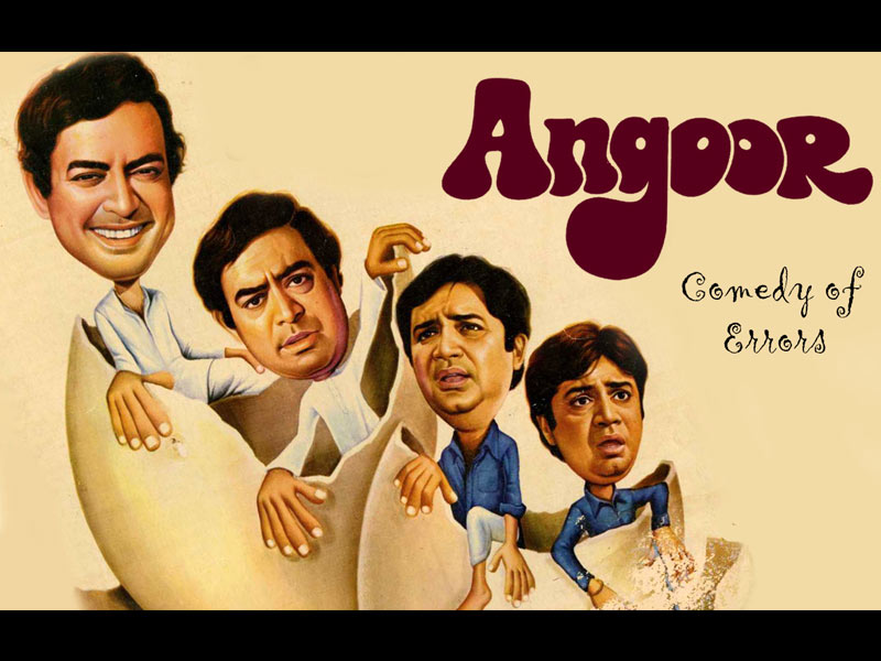 angoor, comedy of errors