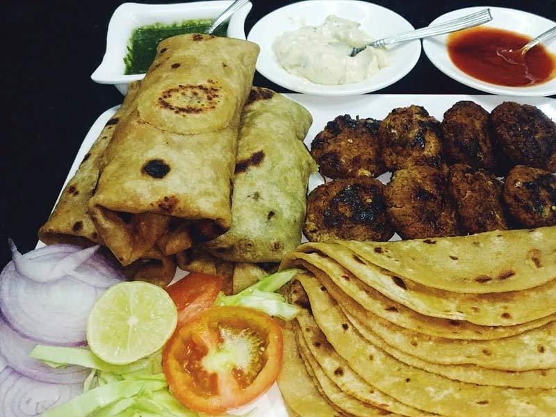 kebab parantha