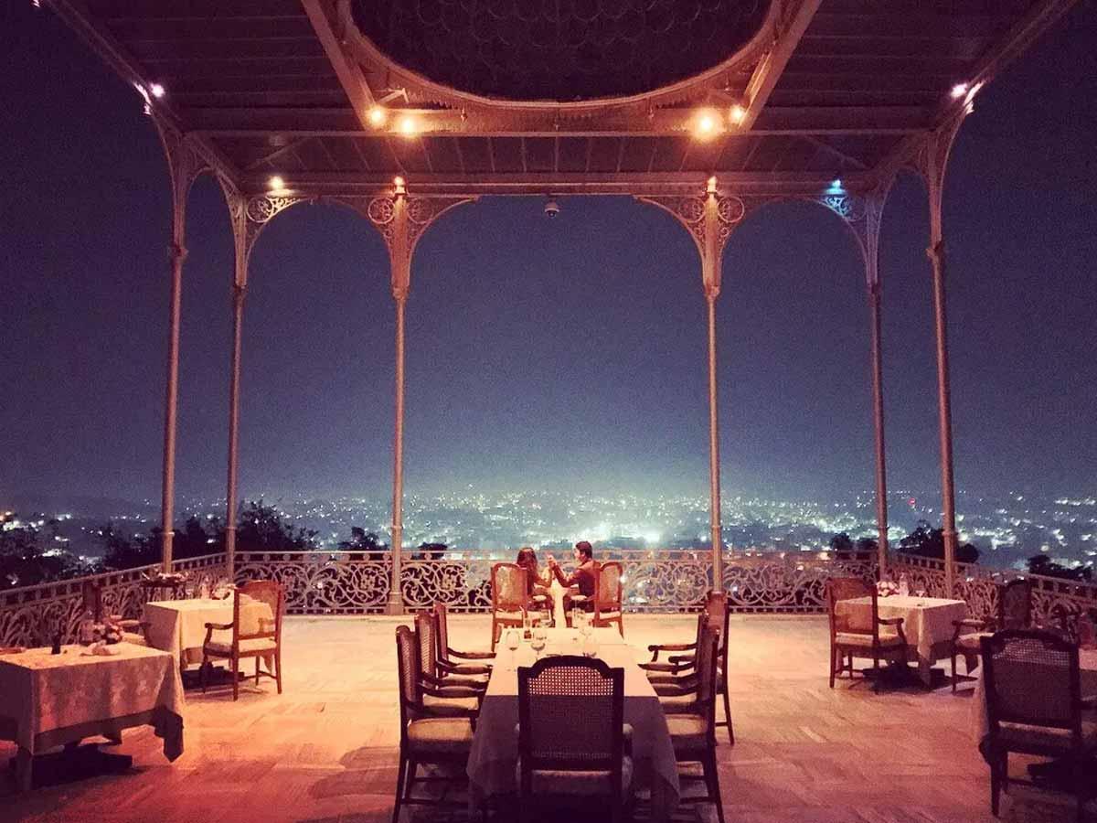 most romantic restaurant in India