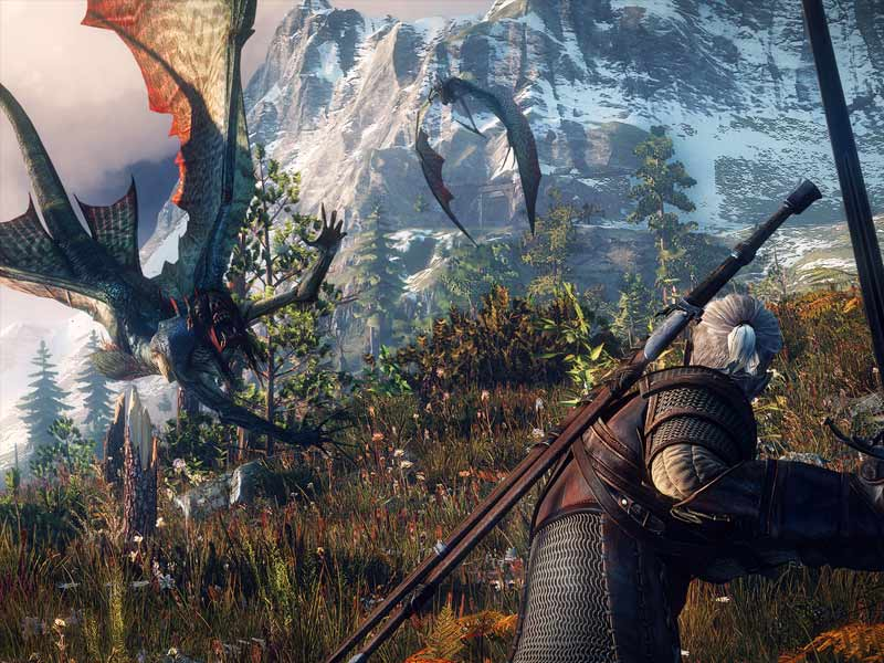 witcher, witcher game