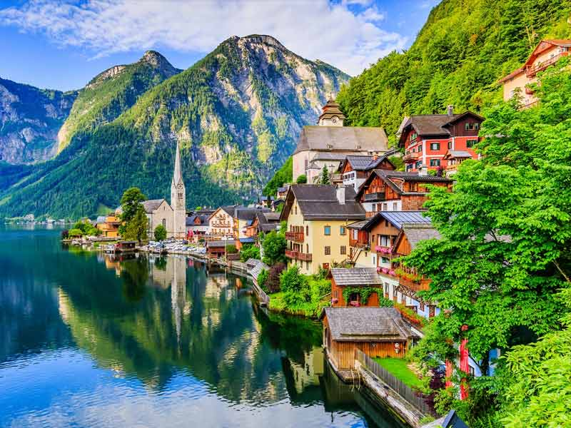 Austria, cleanest country in the world